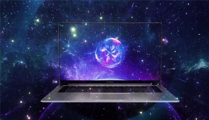荣耀官方宣布MagicBook Pro:无界全面屏,7月23日正式发布