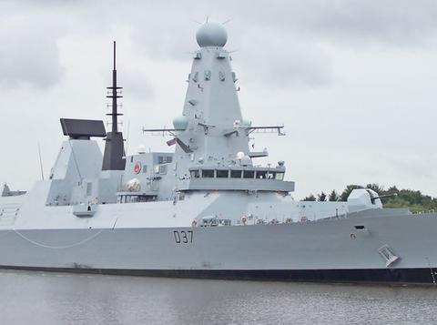 45型驱逐舰是英国皇家海军隶下的新一代防空导弹驱逐舰