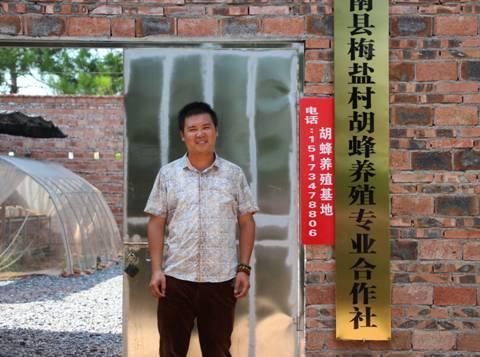 """衡阳胡蜂王子王刚:绿水青山中的致富""""领头蜂"""""""