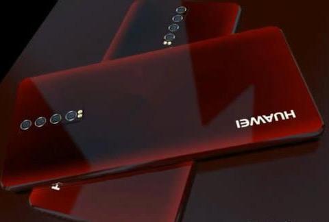 华为P40概念图:屏幕双打孔设计 iPhone三星惊了