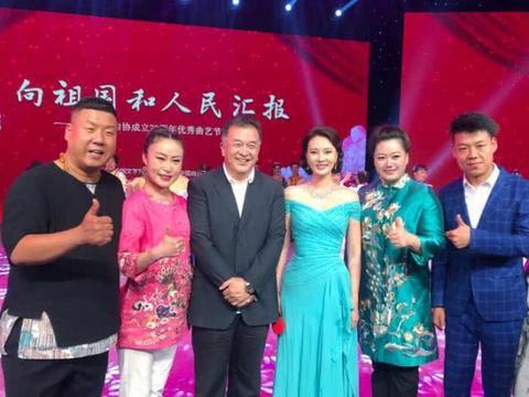 刘芳菲黄宏合体主持曲协晚会,负面新闻缠身的两人如今都走了出来