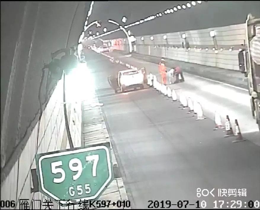 癫痫病人高速公路突然发病,高速交警及时处警暖心救援
