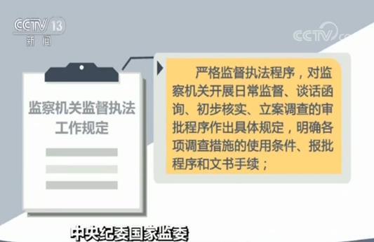 中央纪委国家监委印发《监察机关监督执法工作规定》