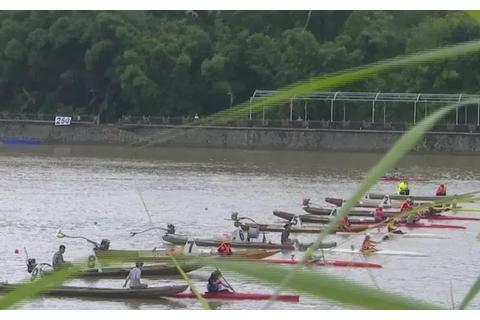 上杭汀江热闹非凡!省青少年皮划艇赛艇锦标赛在这里举行
