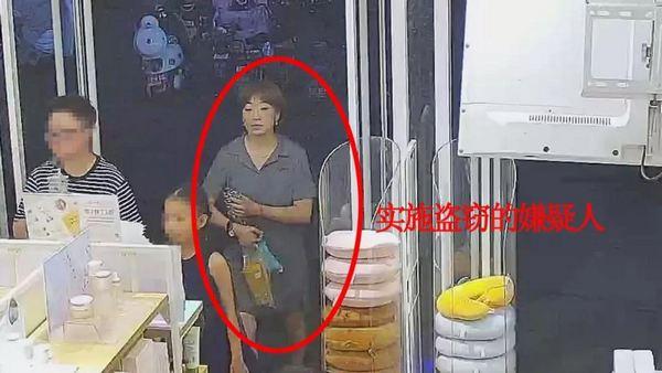 济南警方发布微通缉:女窃贼,快投案!