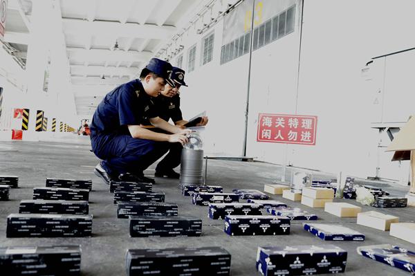 厦门海关查获315个侵权汽车配件 目前已被依法扣留