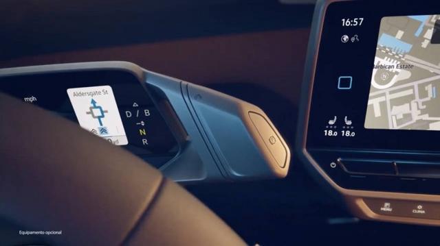 ID.3仪表盘表露大众对EV驾驶舱的愿景