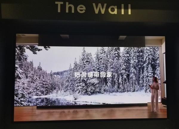 三星The Wall巨幕显示屏中国区首度亮相 共推商用家用两个版本