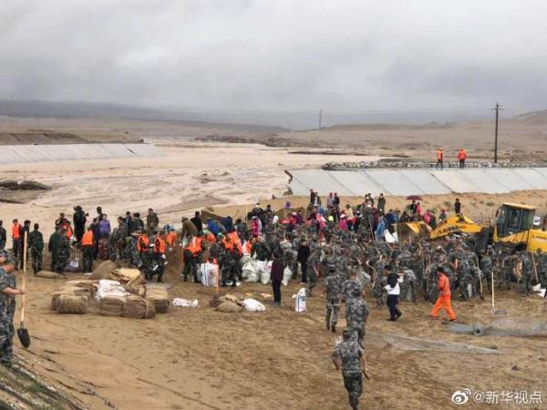 敦煌雨势增加 莫高窟今起动洞穴中止开放应急方案