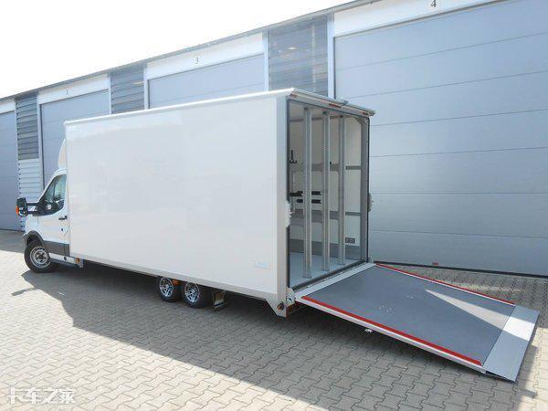 这家德国改装厂真会玩,把上汽大通EV80封闭货车改成了轻卡