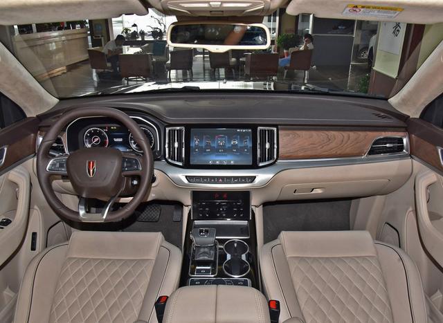 红旗首款中大型SUV来了,轴距3008mm,3.0T+8AT+四驱34.98万起