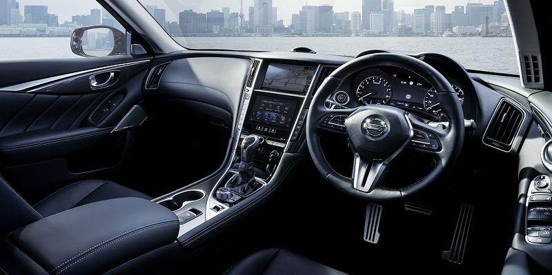 Q50的同门兄弟 日产公布Skyline改款车型官图