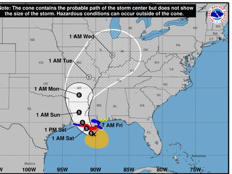 """宣布紧急状态!""""准飓风""""巴里即将来袭,98W台风胚胎或要消失"""