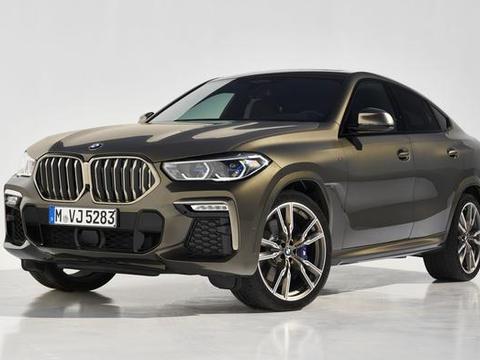 鼻孔不只大,还会亮!第三代BMW X6正式登场