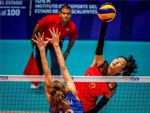 中国女排国青队0:3俄罗斯,数据统计与点评——请多鼓励少指责