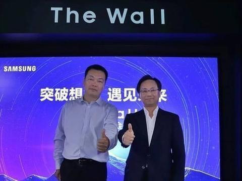传递LED未来密码 三星The Wall巨幕显示屏中国区首度亮相