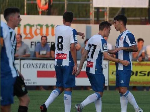 西班牙人6-0大胜佩拉拉达,武磊缺席,梅伦多建功