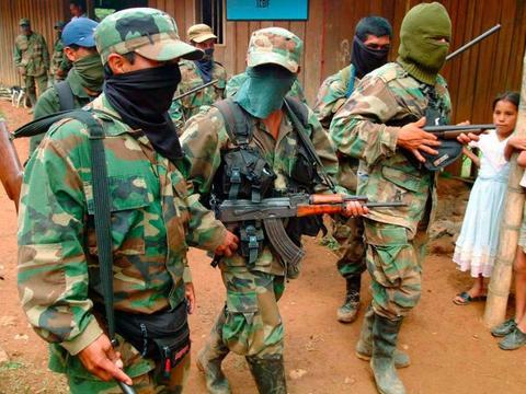 """【警报推送】""""哥伦比亚民族解放军""""拟在纳里尼奥省发起武装罢工"""