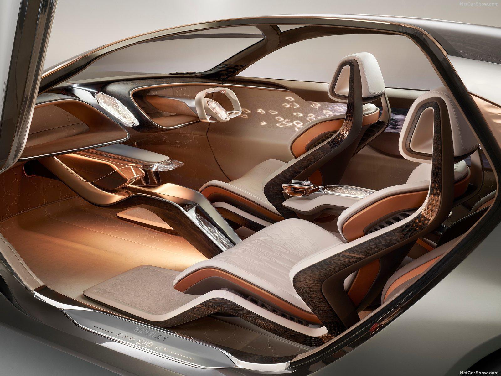 宾利为庆祝百年诞辰,发布未来豪华运动座驾EXP 100 GT概念车