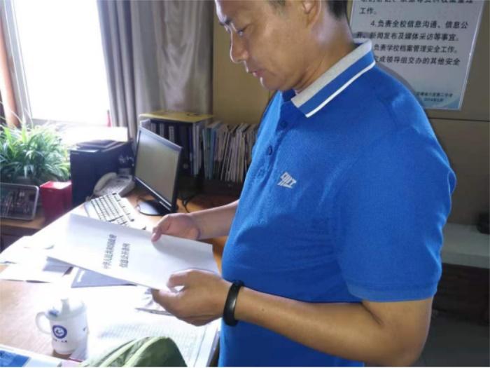 六安二中积极开展《中华人民共和国政府信息公开条例》宣传工作