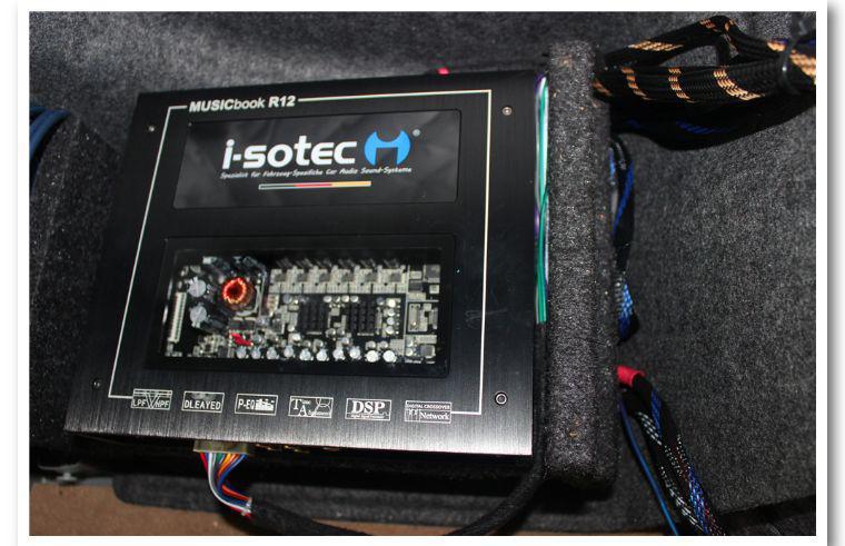别克GL8打造前后彩虹GL-6.3C,5.1立体环绕声场-苏州汽车音响