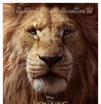 真人版狮子王——唯有音乐值的你买票入电影院