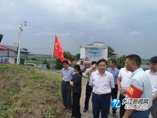 九江市水利局防汛督导组深入各地开展调查指导(三)
