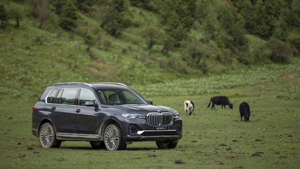 创新BMW X7与新BMW 7系写意香格里拉