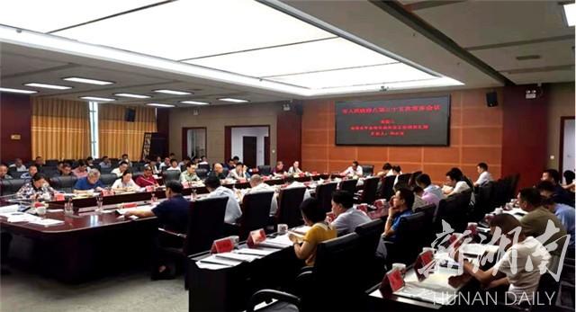 湘乡市政府八届三十五次常务会议研究食品安全等工作
