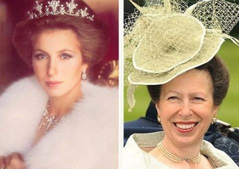 """年轻时的""""安妮公主""""简直是倾国倾城,69岁的她依旧优雅高贵"""