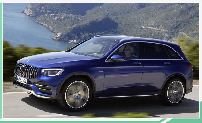 新款AMG GLC 43/Coupe官图发布 外观小幅提升