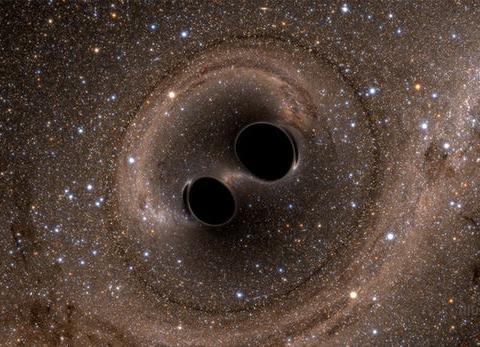 引力波探测器或将揭示暗物质