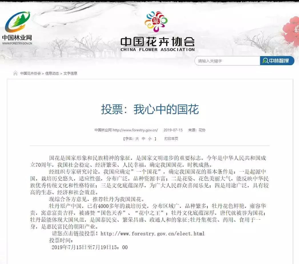 """闪电新闻 中国要有""""国花""""了?花协再回应:我们定不了"""