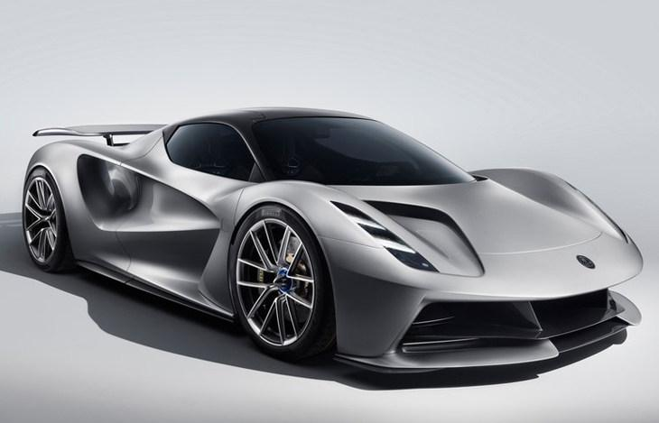 吉利汽车助力复兴 路特斯纯电动超跑Evija发布 18分钟充满电