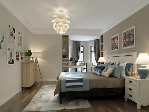 五居室的房子一般多少平米?中式风格半包装修好不好