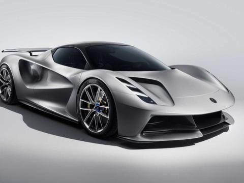 吉利集团新作 路特斯发布2000马力纯电动超跑