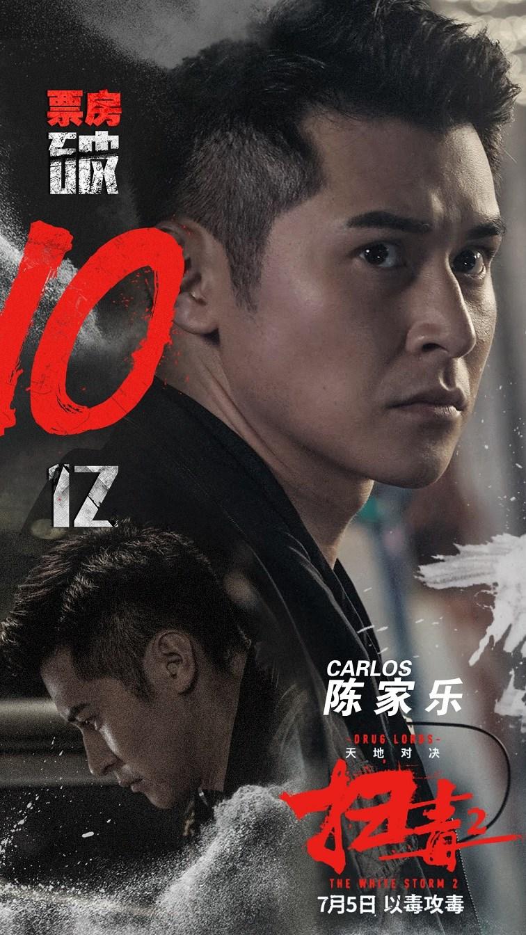 英皇娱乐陈家乐《扫毒2》全国热映 影片票房攻破10亿