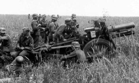 """二战德军,最务实的成果 """"野牛""""自行火炮"""