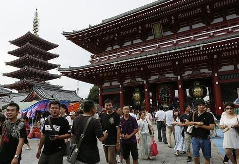 上半年访日游客消费创新高 中国大陆游客贡献最多