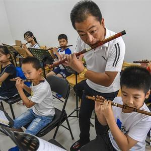 河北广阳:传统文化伴暑假