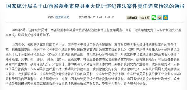 重大违纪违法案件 县委书记县长等17人被处分