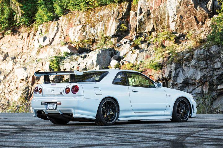 日产Skyline GT-R V-Spec三重奏 改装爱好者的天堂