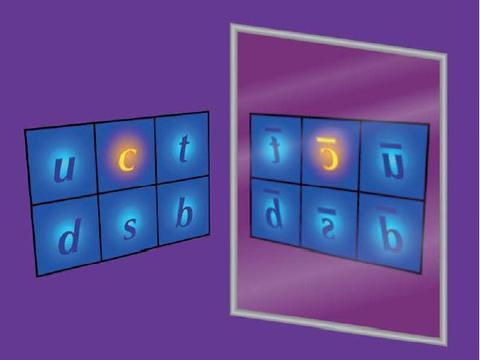 粲夸克的电荷—宇称非对称性