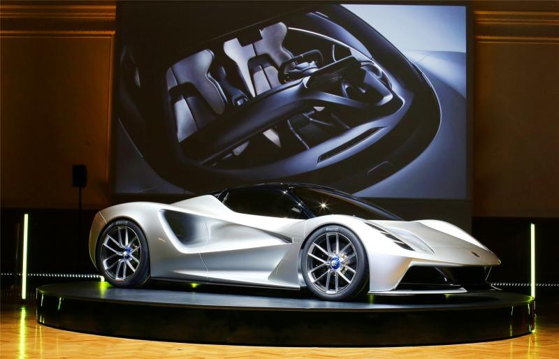 路特斯发布纯电动超级跑车Evija 限量130辆