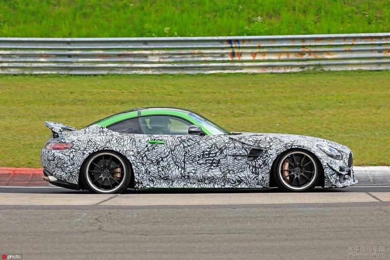 梅赛德斯-AMG GT R EVO谍照曝光,马力或达640PS