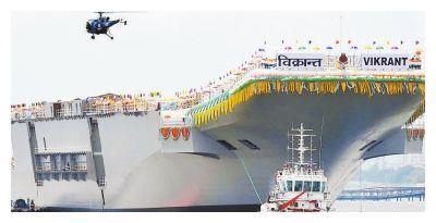 印度国产航母,8层甲板封闭5年,最近才发现没装燃气轮机