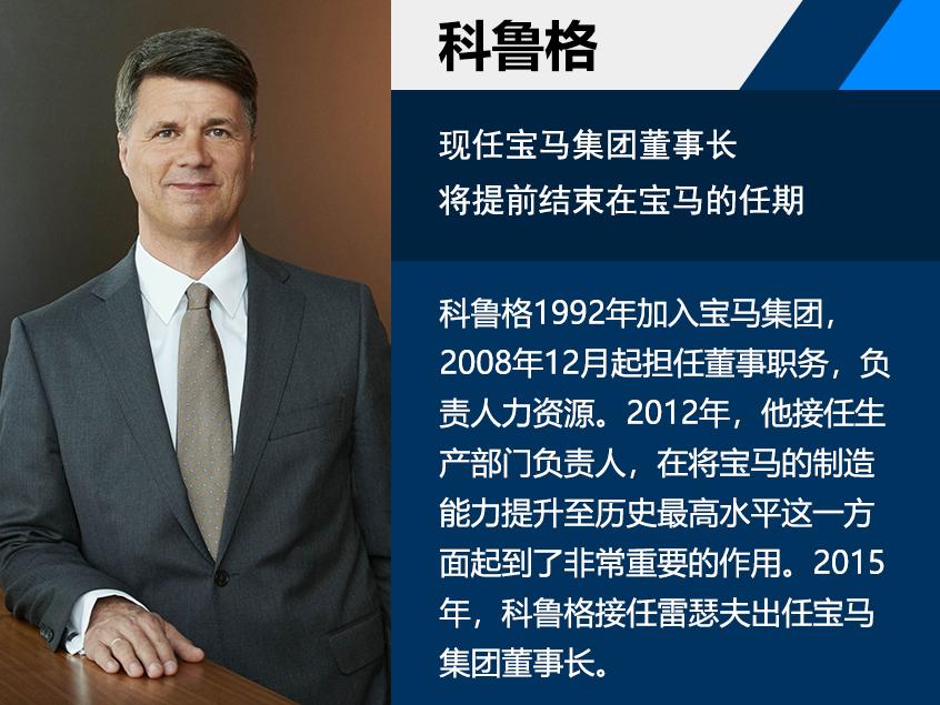 宝马帅印易主 新董事长齐普策下月赴任