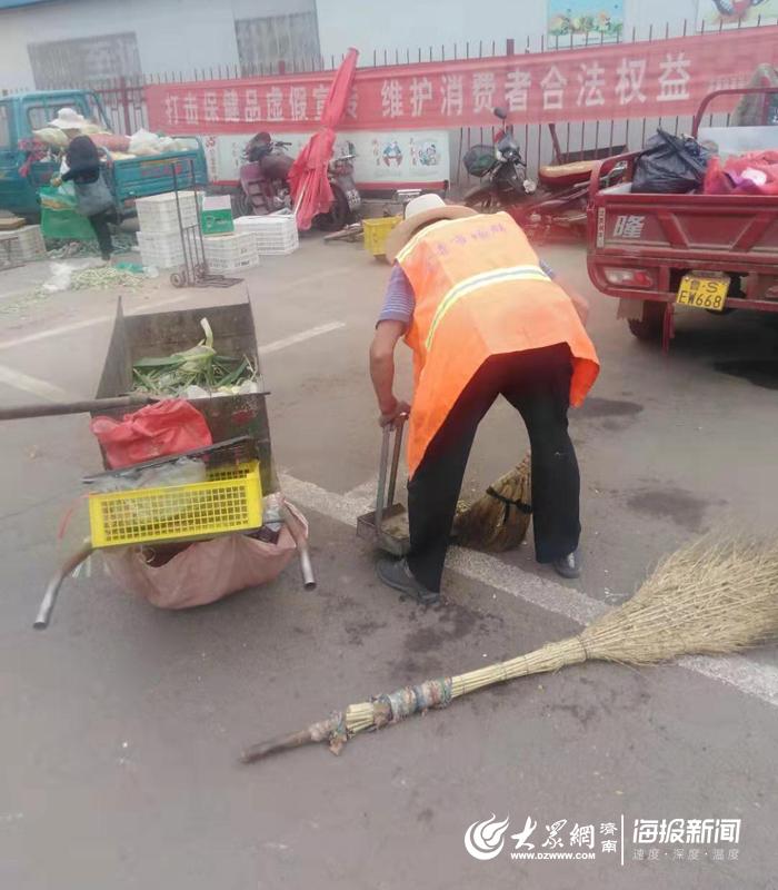 道路更加通畅 街道更加整洁 莱芜官寺社区变得更加宜居