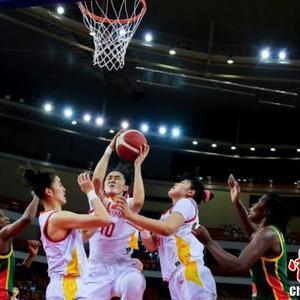 中国女篮战胜塞内加尔女篮