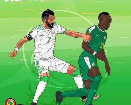 非洲杯决赛首发:马内马赫雷斯领衔,萨内顶替库利巴利